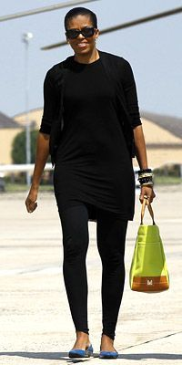 April 23rd - Michelle Obama's 2010 Style Diary - Michelle Obama's Style - Fashion - InStyle.com
