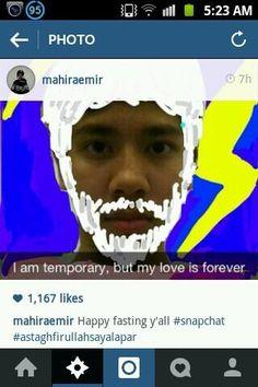 Nih ngakak abis. Sekarang emir mainannya snapchat kaya nak hitzzz!:3