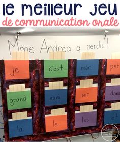 Classroom tips & tricks, resources and teaching ideas for the primary French classroom - immersion or French first-language Learning French For Kids, Spanish Language Learning, Teaching Spanish, Teaching Reading, Teaching Vocabulary, Spanish Activities, Learning Italian, Math Activities, Education And Literacy