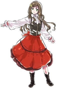 the anime club at my school is going to go to Tokyo in Tulsa this summer and Im going to cosplay as this Hungary, Im so excited!!!! XD