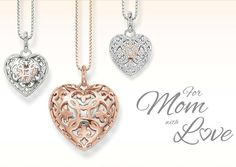 Mothers Day is just around the corner, we have made finding the right gift easy. When you purchase the Open Your Heart Pendant from Thomas Sabo, you will also receive the matching chain in an elegant gift box. http://www.bocianjewellers.ca/