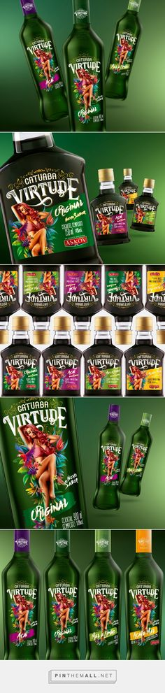 Catuaba Virtude - Packaging of the World - Creative Package Design Gallery - http://www.packagingoftheworld.com/2017/09/catuaba-virtude.html