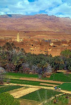 Atlal Mountains . Morocco
