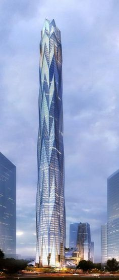Futuristic, Planned Chengdu Greenland Tower, Future Tower, Chengdu, China by Adrian Smith Gordon Gill Architects, Skyscraper, Modern by FuturisticNews.com
