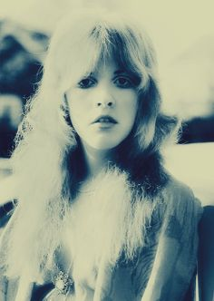Stevie  ~ ☆♥❤♥☆ ~   so blonde and beautiful; photo taken during her early days with Fleetwood Mac