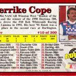 Derrike Cope Rookie Card Derrike Cope, Public Speaking, Racing, Cards, Running, Auto Racing, Map