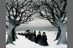 Mourning Procession, Helena Blomqvist