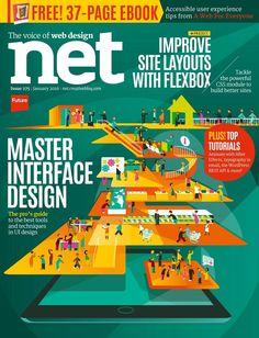 #Net Magazine 275, #november. Master interface #design. Improve site #layouts with flexbox.