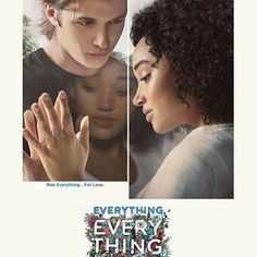 """If you don't risk everything… you'll never discover anything. #everythingeverything in theaters May 19."" (📸 @everythingeverythingfilm) #regram"