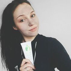 #skinfoodie @clairegracethomas with her #mudmasque doing its thang