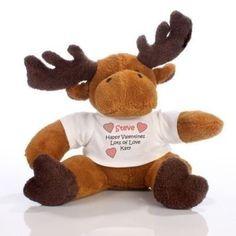 Love Message Moose. £11.99 #Moose #PersonalisedGifts #BabyGifts #PersonalisedBabyGifts #Baby #Newborn #NewBaby