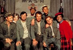 MASH - Loved this show growing up. Definitely one of the best tv series. Top 100 Tv Shows, Great Tv Shows, Old Tv Shows, Benjamin Franklin, Gary Burghoff, Wayne Rogers, Burns, Mash 4077, William Christopher