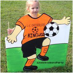 Soccer Photo Prop . Sports Birthday Cutout . by LittleGoobersParty