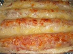 Puerros con gambas y salmón ahumado al gratén Savoury Baking, Healthy Recipes, Cooking, Breakfast, Salmon Cakes, Ham And Cheese, Recipes With Vegetables, Smoked Salmon, Meals