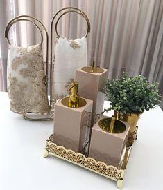 Bathroom Counter Decor, Bathroom Tray, Washroom, Glamour Decor, Home Decor Accessories, Decorative Accessories, Bath Decor, Bedroom Decor, Rose Gold Kitchen