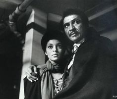 """Vonetta McGee and William Marshall. Both from the vintage film, """"Blacula""""."""