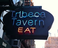 The guy who owns Auger's Well on St Marks  his dad owns Tribeca Tavern.  I want to check it out.