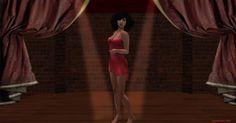 https://flic.kr/p/K4mPv2 | Back drape lingerie tank dress by Meli Imako Hair…