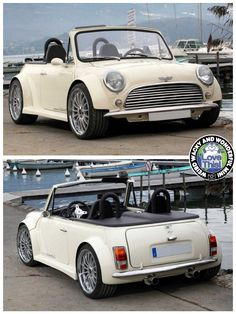 Oh go on then, let's have another V8 Wide Arched Wednesday Mini. This time in the form of an absolutely gorgeous Roadster from France. Love this lil beasty