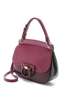 Leather Small Shoulder Handbags