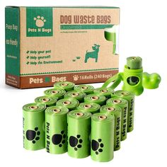 Poop Bags, Pets N Bags Dog Waste Bags, Refill Rolls * Read more reviews of the product by visiting the link on the image. (This is an affiliate link and I receive a commission for the sales)