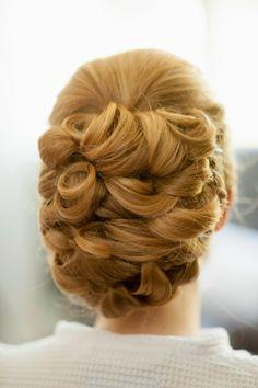 wedding week: oh the fashionable // wedding hair