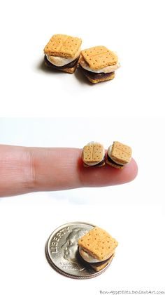 Mini S'mores by ~Bon-AppetEats on deviantART