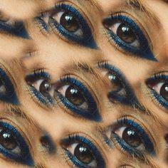 "910 Likes, 24 Comments - Xeni Kouveli (@stylelove) on Instagram: ""#Blue 👁 pattern Make up by @alexandraspyridopoulou #stylelove #STYLART #styleart #style #love #art"""