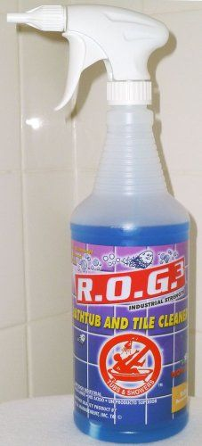 Bathtub Cleaner Express ROG 3 Tub and Shower Cleaning Solution Refill