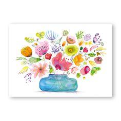 'lovely blue vase' Spring collection 2018