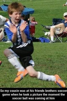 Too fabulous for soccer… on imgfave