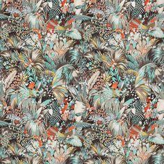 A exuberância tropical Matthew Williamson (Foto: divulgação) Tecido Jungle Beat, mix de linho e algodão