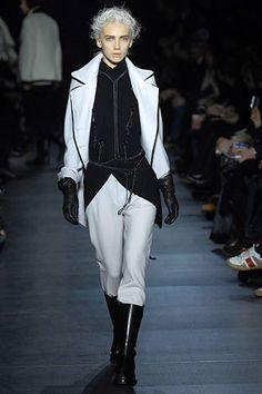 Ann Demeulemeester Fall 2007 Ready-to-Wear Fashion Show - Tetyana Brazhnyk
