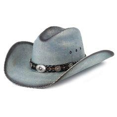 a784f3da6e4e48 Bullhide Into You Straw Hat Blue. Denise McCann · WESTERN HATS ...
