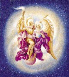 Archangel Uriel and Aurora