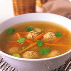 アジアンチキンスープ (レシピNo.867) ネスレ バランスレシピ