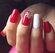 38 Amazing Christmas nail ideas for Christmas short nails; , , 38 Amazing Christmas nail ideas for Christmas short nails; Cute Christmas Nails, Christmas Nail Art Designs, Xmas Nails, Holiday Nails, Red Nails, Christmas Manicure, Christmas Snowflakes, Christmas Acrylic Nails, Simple Christmas