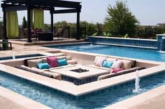 Pool and couch