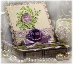 Classic Bella Rose Jewelry Box