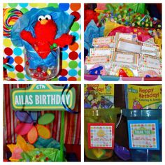 Sunny Day for a Sesame Street Birthday Party by Frosted Events | Frosted Events Birthday Party Themes, Baby Shower Themes, Bridal Shower Themes