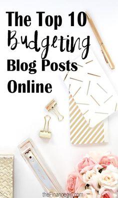 The top 10 budgeting blog posts   Financegirl