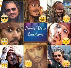 Johnny emoticons :)
