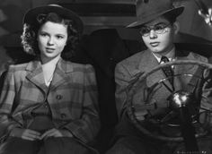 "Shirley Temple Miss Annie Rooney | Shirley Temple and Dickie Moore in ""Miss Annie Rooney"" (1942)"