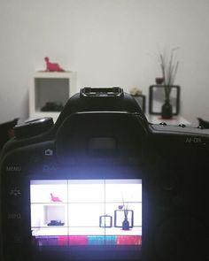 Neuer Setaufbau  Morgen wird wieder ein Tutorial gedreht diesmal mit anderem Hintergrund    Schon gespannt welches Thema es sein wird?  by kacy - makeup & photo