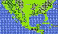 Google Maps in 8-bit