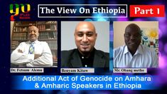 Part 1 - The View On Ethiopia - Additional Act of Genocide on Amhara & A... Ethiopia, Acting, Baseball Cards, World, The World, Earth