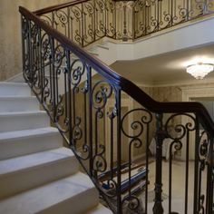 """Wrought iron staircases - """"Ox Iron Art"""" Company"""
