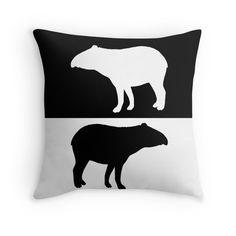Tapir | Throw Pillow