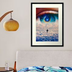 Surreal Collage, Framed Art Prints, Clouds, Wall Art, Tees, Illustration, People, Painting, Design