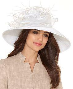 I think we should start wearing fancy hats!